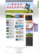 海城旅游网站建设}海城旅行社网站制作案例